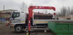 Услуги грузового автомобиля с манипулятором