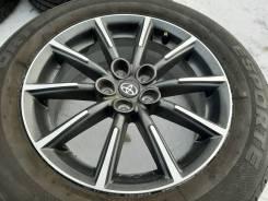 "Колеса 215/60 R16 лето Литье Subaru R16 5*100 Outback Forester. 6.5x16"" 5x100.00 ET48 ЦО 54,1мм."