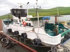 Моторное судно Шхуна Kawasaki Poseidon. 1977 год, длина 17,00м., двигатель стационарный, 450,00л.с., дизель