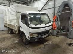 Hino Dutro. Продам грузовик hino dutro 2004 г. в. 3.5 тонны, 4 900куб. см., 3 500кг., 4x2
