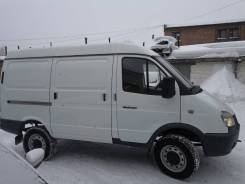 ГАЗ 27527. Продается цельнометалический фургон , 3 000куб. см., 1 000кг., 4x4