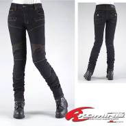 Мотоджинсы женские Komine PK-718 SuperFIT Kevlar D-Jeans