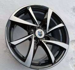 Новые литые диски K&K Игуана на Kia Rio, Hyundai Solaris R15