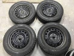 "175/65R15 Dunlop Winter Maxx WM02 2017г на дисках Toyota 4*100. 5.0x15"" 4x100.00 ЦО 54,1мм. Под заказ"