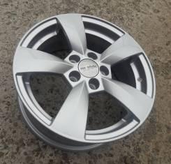 Новые литые диски K&K КС700 на Skoda Rapid, Fabia, VW Polo R15