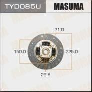 """Диск сцепления """"Masuma"""" 225*150*21*29.8 (1/10)"""