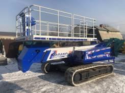Tadano AC-125S. Подъемная платформа на гусеничном ходу Tadano AC-125, 2 800куб. см., 12,50м.