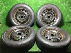 """Комплект летних колес Bridgestone Sneaker R14. 5.5x14"""" 5x114.30 ET45"""