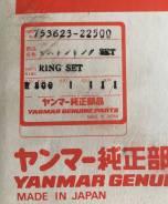 Кольца поршневые Yanmar ДВС 8Z280 753623-22500 (753623-22560)