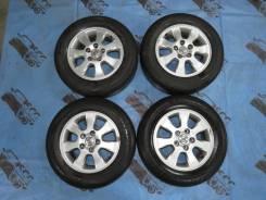 """Оригиналы Toyota R15 5*114.3 + лето Bridgestone 205/65/15. 6.5x15"""" 5x114.30 ET50 ЦО 60,1мм."""