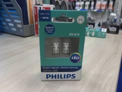 Philips Лампа светодиодная Ultinon LED-HL White T10 6000К 12V W5W X2
