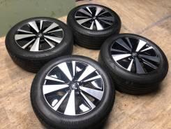 "R17 диски Nissan + 215/55R17 протектор 99% (ЛЕТО) KO35. 7.5x17"" 5x114.30 ET50"