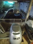 Продам лодку вильбот 42к с мотором Хонда 30