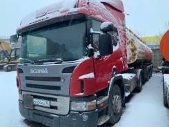 Scania G380. Седельный тягач Scania P340, 2011г., 11 705куб. см., 39 500кг., 4x2