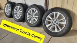 """205-65-16, оригинал Toyota Camry V70, в наличии. 6.5x16"""" 5x114.30 ET40 ЦО 60,1мм."""