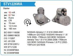 Стартер новый Motorherz STV1226WA