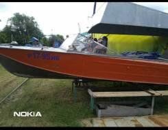 Казанка- 2М+мотор Меркурий 60 л. с.