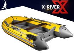 X-River Grace 380. 2020 год, длина 3,80м., двигатель подвесной, 15,00л.с., бензин
