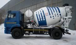 КамАЗ 58145W. Автобетоносмеситель Камаз 58145W на шасси 53605 (4х2), 6 700куб. см., 5,00куб. м. Под заказ