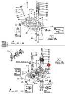 Направляющая клапана 126634-11170 Yanmar ДВС 6HAL2-DTN
