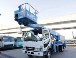 Mitsubishi Fuso Canter. Автовышка Mitsubishi Fuso Fighter 27 метров, 4 890 куб. см., 28,00 м. Под заказ