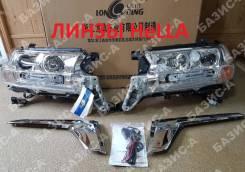 LAND Cruiser 200 2016+ фары комплект ( линза Hella ) Качество