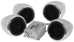 Аудиосистема всепогодная 1000W, AUX, MC450, Boss Audio