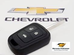 Ключ зажигания (корпус) Chevrolet 3-х кнопочный