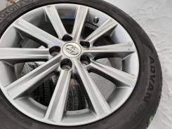 "Колеса Графит Toyota Camry R17 5*114 215/55 R17 Оригинал made in Japan. 7.0x17"" 5x114.30 ET45 ЦО 60,1мм."
