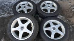"=Колеса= Шины 205/55R16 Bridgestone+диски 5x100/114,3 #Premio, Allion. 7.0x16"" 5x100.00, 5x114.30 ET48"