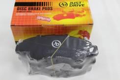 Колодки тормозные передние Honda Logo, Capa, Civic,