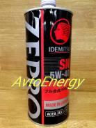 Idemitsu Zepro Racing. 5W-40, синтетическое, 1,00л.