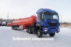 Iveco Trakker. Седельный тягач с высокой кабиной - 500 л. с. + допог, 12 880куб. см., 27 000кг., 6x6