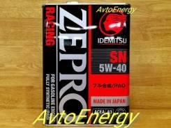 Idemitsu Zepro Racing. 5W-40, PAO, синтетическое, 4,00л.