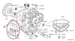 Радиатор масляный CVT Nissan 216063JX0C