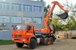 Эксмаш E195A. Новый Экскаватор-планировщик UMG E195A на шасси Камаз-43118 (6х6), 0,80куб. м.