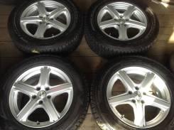 "225/65R17 Dunlop зима, диски 5x114.3 Plencia. 7.0x17"" 5x114.30 ET40"