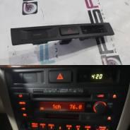 Консоль с часами. Toyota Mark II Wagon Blit, GX110, GX110W, GX115, GX115W, JZX110, JZX110W, JZX115, JZX115W Toyota Mark II, GX110, GX115, JZX110, JZX1...