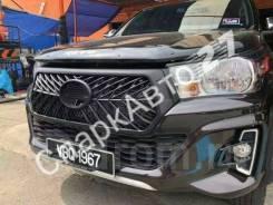 Решетка радиатора. Toyota Hilux Pick Up, GUN125, GUN126L, GUN125L Toyota Hilux, GUN125 1GDFTV, 2GDFTV