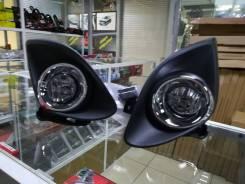 Установочный комплект туманок Mazda Demio/Mazda 2 2011-14