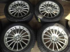 """225/55R18 Bridgestone зима, диски 5x100 Eco Forme. 7.5x18"""" 5x100.00 ET53"""