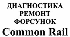Ремонт форсунок Commoin Rail