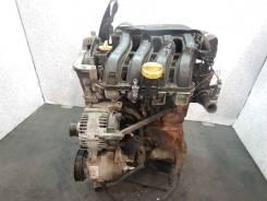 Двигатель Renault Scenic 2008 г, 1.6 л, бензин (K4M 766)