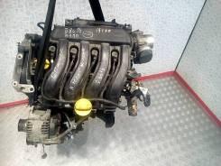 Двигатель Renault Scenic 2 2007, 1.6л, бензин (K4M 766 )
