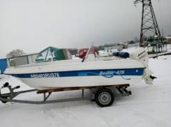 Катер Sava 475 + лодочный мотор BRP Johnson 70
