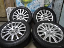 """Продам Фирменные Под Чёр. Хром колёса Toyota Crown+Лето 215/55R17. 7.0x17"""" 5x114.30 ET45"""