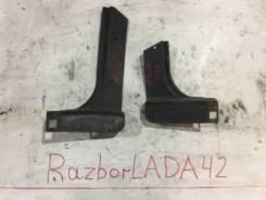 Накладки на передние стойки кузова лада 2114 лада 2109 лада 2115 лада