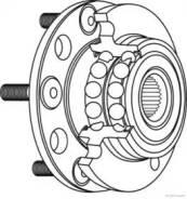 Ступица колеса LYNXauto [WH1130], левая/правая задняя