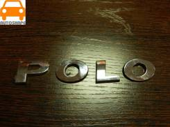 "Надпись крышки багажника ""Polo"" Volksvagen Polo, седан 2010-2018 [6R0853687A739]"