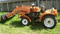 Кентавр. Мини трактор с погрузчиком, 350кг., Дизельный, 0,20куб. м.